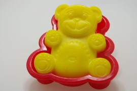 Silicon mould - bear